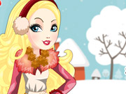 Epic Winter Apple White Dress Up