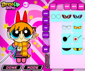 Powerpuff Maker Dress Up