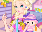 Elsa And Dolls Dress Up