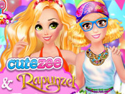 Cutezee And Rapunzel Festival Challenge