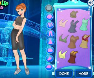 Elsa And Ariel Date Looks  Girl Games