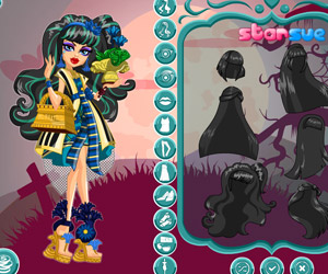 Gloom and Bloom Cleo de Nile Dress Up