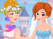 Barbie And Elsa Bridesmaids Rivals