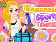 Rapunzels Sporty Outfit