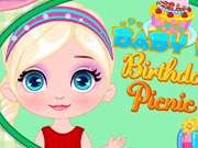 Baby Barbie Birthday Picnic