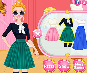 Barbie Autumn Trends Pleated Skirts