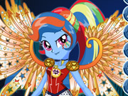 Crystal Wings Rainbow Dash