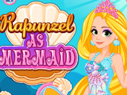 Rapunzel As Mermaid