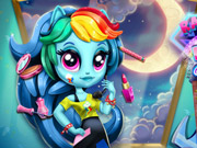 Rainbow Dash K-Pop Fashion