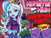 Monster High Christmas Dress Up