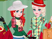Princess Christmas Fashion Rivals