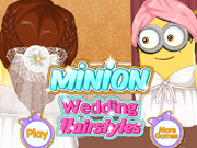 Minion Wedding Hair