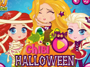 Chibi Halloween Slacking