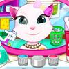 ANGELA CAT CLEAN TEETH GAME