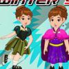 BABY ELSA WINTER SHOPPING