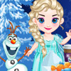 BABY FROZEN PARTY PREPARE