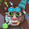 BABY TALKING TOM GREAT MAKEOVER