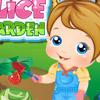 BABY ALICE GARDEN GAME