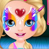 BABY BARBIE FACE PAINTING GAME