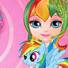 BABY BARBIE LITTLE PONY