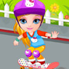 BABY BARBIE SKATEBOARD ACCIDENT GAME