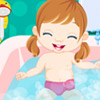 BABY BATH TIME CARING GAME