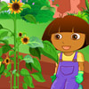 BABY DORA IN THE FARM