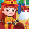 BABY HAZEL FIREFIGHTER OUTFIT DRESS UP