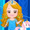 BABY HAZEL FROZEN DRESS UP