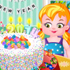 BABY HAZEL NEW YEAR CONFETTI CAKE GAME