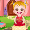 BABY HAZEL PRINCESS DRESS UP