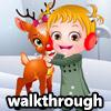 BABY HAZEL TAKE CARE REINDEER WALKTHROUGH