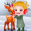 BABY HAZEL TAKE CARE REINDEER