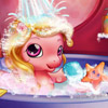 BABY PONY BATH GAME