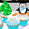 BAKE WINTER CUPCAKES GAME