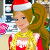 BARBIE CHRISTMAS DOLL GAME