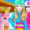 BARBIE PONY TALE DRESS UP GAME
