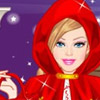 BARBIE RED RIDING HOOD DRESS UP