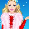 BARBIE WINTER PRINCESS DRESS UP