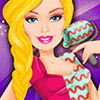 BARBIE COLORFUL DESIGNS GAME