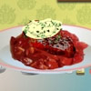 BEEF MEDALLIONS WITH HORSERADISH CREAM GAME