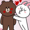 BROWN AND CONY LINE LOVE