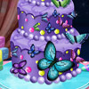 BUTTERFLY CHRISTMAS CAKE GAME
