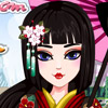 CHERRY BLOSSOM MAKEOVER GAME