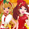 CHRISTMAS FRIENDS DRESS UP
