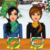 CHRISTMAS ICE RINK DINNER GAME