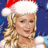 CHRISTMAS PARIS HILTON CELEBRITY MAKE UP