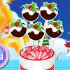 CHRISTMAS PUDDING CAKE POPS GAME