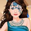 CUTE BIRTHDAY GIRL FACE ART DRESS UP
