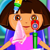CUTE DORA AT THE EYE CLINIC